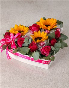 flowers: Special Sunflower Mothers Day Lindt Spoil !