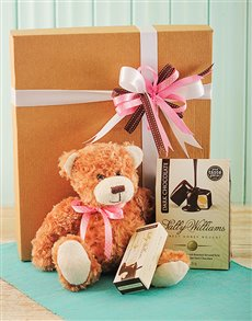 Mothers Day Soft Teddy Bear with Sally Williams