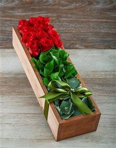 flowers: Love Me Tender Red Rose Box!