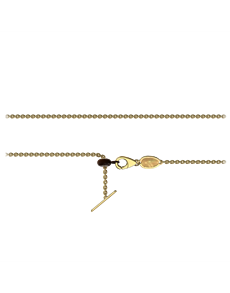 jewellery: Memi 9KT Yellow Gold Charm Chain!