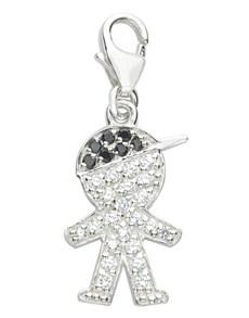 jewellery: Miss Silver Boy Charm!