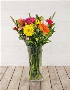 best-sellers: Rainbow Floral Arrangement!