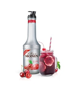alcohol: MONIN CHERRY PUREE MIX 1L X1!