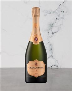 alcohol: Graham Beck Brut Rose Vintage 750Ml!