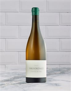 alcohol: BROOKDALE CHENIN BLANC 750ML X1!