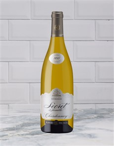 alcohol: A BICHOT SECRETS FAM CHARDONNAY 750ML X1!
