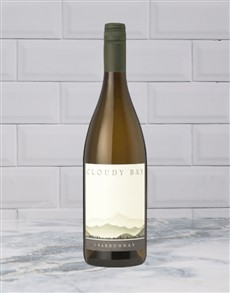 alcohol: CLOUDY BAY CHARDONNAY 750ML X1!
