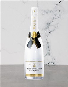 alcohol: MOET & CHANDON ICE IMPERIAL 750ML X1!