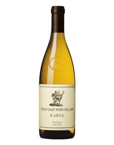 alcohol: STAGS LEAP KARIA CHARDONNAY 750ML X1!
