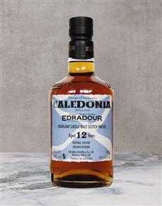 alcohol: EDRADOUR CALEDONIA 12YR 750ML X1!