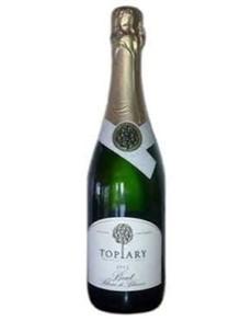 alcohol: TOPIARY BLANC DE BLANC BRUT 75!