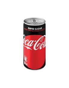 alcohol: COKE ZERO CAN 200ML!