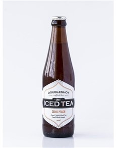 alcohol: DOUBLESHOT CRAFT ICED TEA PEACH BLACK 330ML!