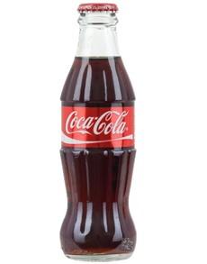 alcohol: COKE 200ML GLASS!