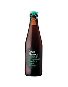 alcohol: UBER ICE TEA APPLE & CINNAMON 330ML!