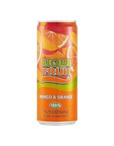 alcohol: LIQUIFRUIT MANGO ORANGE 330ML!