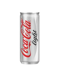alcohol: COKE LITE CAN 200ML!