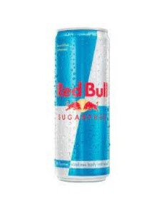 alcohol: RED BULL SUGAR FREE 250ML!