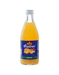 alcohol: FRUITREE TROPICAL 350ML GLASS!