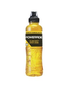 alcohol: POWERADE I/BURST 500ML!