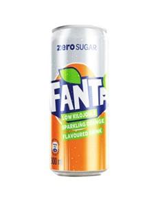alcohol: FANTA ORANGE ZERO CAN 300ML!