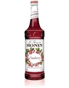 alcohol: MONIN CRANBERRY/AIRELLE 700ML!