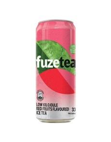 alcohol: FUZE ICE TEA RED FRUIT 330ML!