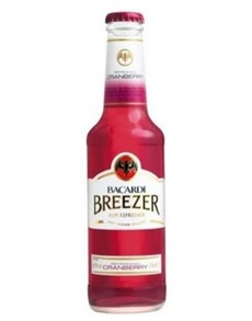 alcohol: BACARDI BREEZER CRANBERRY 275ML!