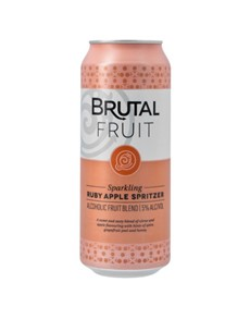 alcohol: BRUTAL FRUIT RUBY APPLE CAN 500ML!