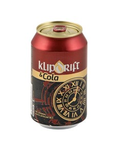 alcohol: KLIPPIES & COLA CAN 330ML!
