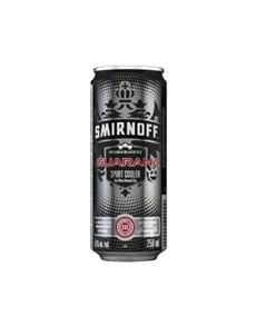 alcohol: SMIRNOFF ICE DOUBLE BLACK & GUARANA 250ML!