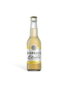 alcohol: EVERSONS CLOUDY APPLE 340ML!