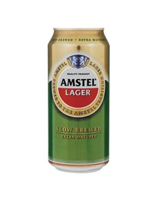 alcohol: AMSTEL LAGER CAN 440ML!