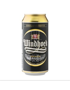 alcohol: WINDHOEK DRAUGHT CAN 440ML!