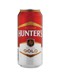 alcohol: HUNTERS GOLD CAN 440ML!