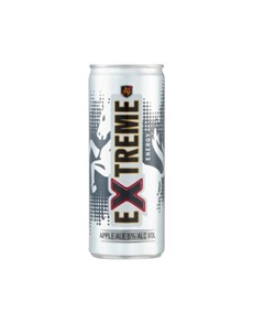 alcohol: HUNTERS EXTREME ENERGY 250ML CAN!
