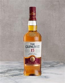 alcohol: Glenlivet 15Yr 750Ml!