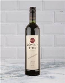 alcohol: Waverley Hills CabSauv (Non Sulp) 750Ml!
