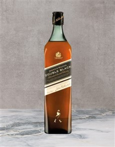 alcohol: Johnnie Walker Double Black 750Ml!