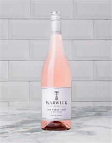 alcohol: Warwick First Lady Rose 750Ml!