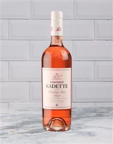 alcohol: Kanonkop Kadette Pino Rose 750Ml!