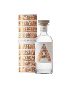 alcohol: Autograph African Dry Gin 750Ml!