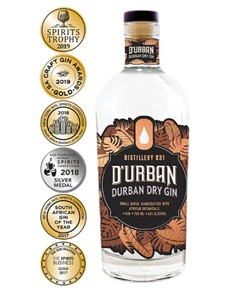 alcohol: Durban Dry Gin 750Ml!