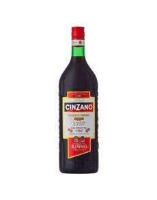 alcohol: Cinzano Rosso 750Ml!