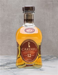 alcohol: Cardhu 12 Yo Scotch Whisky 750Ml!