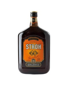 alcohol: Stroh Rum 60 Percent 750Ml!