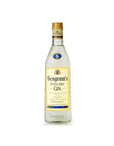 alcohol: Seagrams Dry Gin 750Ml!