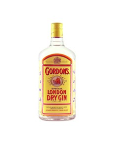 alcohol: Gordons Gin 750Ml!