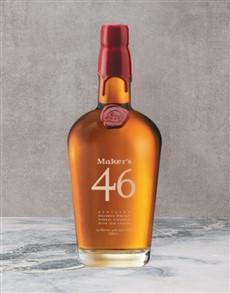 alcohol: Makers Mark46 Bourbon 750Ml!