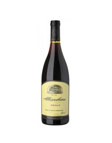 alcohol: ALLESVERLOREN SHIRAZ 750ML !